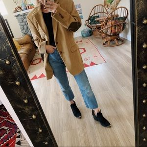 Ralph Lauren oversized corduroy elbow patch blazer